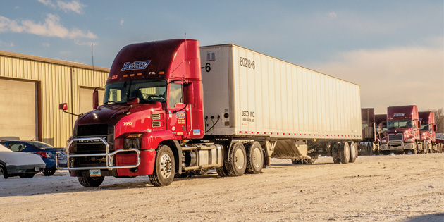BECO, Inc. recognized by MACK Truck for reliability, on-time performance and fuel economy